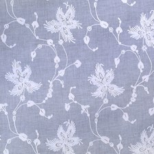 Porcelain Embroidery Decorator Fabric by Brunschwig & Fils