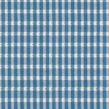 Oxford Blue Chenille Decorator Fabric by Brunschwig & Fils