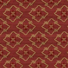 Red Decorator Fabric by Brunschwig & Fils
