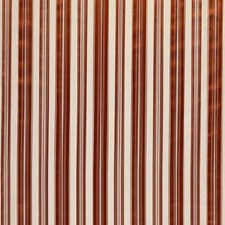 Mandarin Red Stripes Decorator Fabric by Brunschwig & Fils