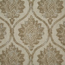 Mushroom Damask Decorator Fabric by Pindler