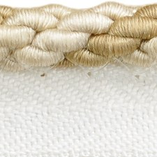 Cord With Lip Beige/White Trim by Threads