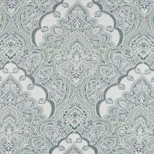 Blue/Green Traditional Decorator Fabric by JF