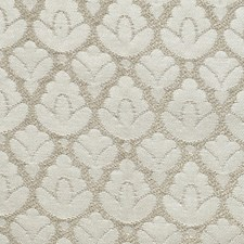 Ivory/Silver Decorator Fabric by Scalamandre