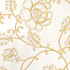 Beige On White Decorator Fabric by Scalamandre
