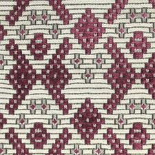 Aubergine/Beige Decorator Fabric by Scalamandre