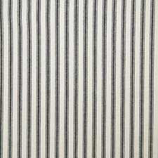 Black Stripe Decorator Fabric by Pindler