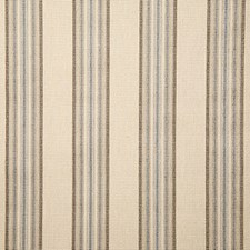 Prussian Stripe Decorator Fabric by Pindler