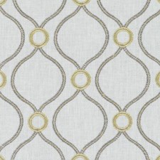 Canary Dots Decorator Fabric by Duralee