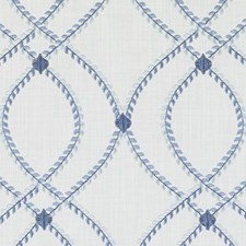 Marine Embroidery Decorator Fabric by Duralee