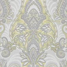 Antique Gold Paisley Decorator Fabric by Duralee