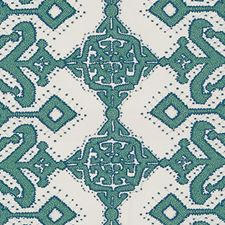 Emerald Ethnic Decorator Fabric by Duralee