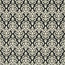 Black Diamond Decorator Fabric by Kasmir