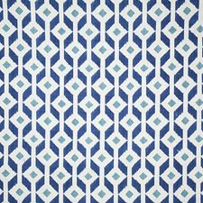 Azure Ethnic Decorator Fabric by Pindler