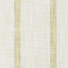 Creme/Gold Stripe Decorator Fabric by Duralee