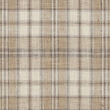 Toast Plaid Decorator Fabric by Duralee