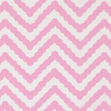 Bubble Gum Herringbone Decorator Fabric by Duralee
