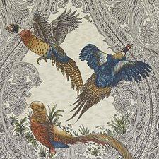 Hunter Birds Decorator Fabric by Duralee