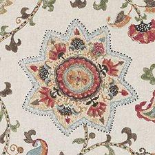 Multi Ethnic Decorator Fabric by Duralee