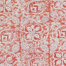 Red Leaf Decorator Fabric by Duralee