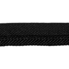 Cord Black Trim by Duralee
