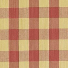 Strawberry Plaid Decorator Fabric by Duralee