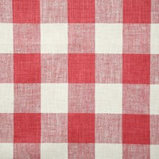 Raspberry Check Decorator Fabric by Pindler
