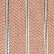 Coral Herringbone Decorator Fabric by Duralee