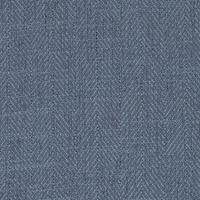 Marine Herringbone Decorator Fabric by Duralee