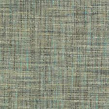 Turquoise/Olive Texture Decorator Fabric by Duralee