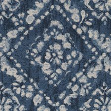 Navy Diamond Decorator Fabric by Duralee