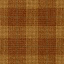 Pumpkin Plaid Decorator Fabric by Duralee