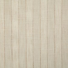 Cream Stripe Decorator Fabric by Pindler