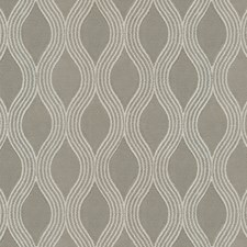 Beige/Taupe Scroll Decorator Fabric by JF