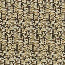 Bronze/Pewter Print Decorator Fabric by Threads