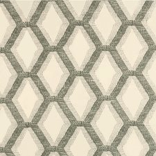 Silver/Shale Embroidery Decorator Fabric by Threads