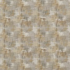 Platinum/Bronze Embroidery Decorator Fabric by Threads