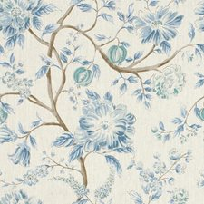 Lake Botanical Decorator Fabric by Kravet