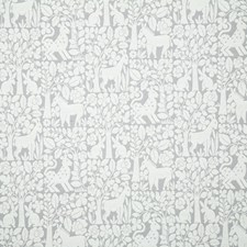 Silver Ethnic Decorator Fabric by Pindler