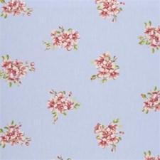 Powder Floral Small Decorator Fabric by Clarke & Clarke