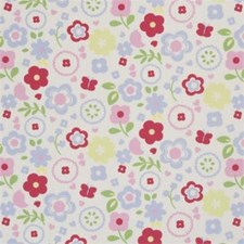 Chintz Floral Small Decorator Fabric by Clarke & Clarke