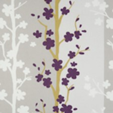 Heather Floral Vine Decorator Fabric by Clarke & Clarke
