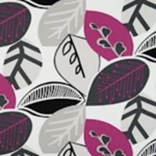 Fuchsia Abstract Decorator Fabric by Clarke & Clarke