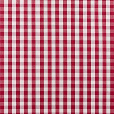 Red Plaid Decorator Fabric by Clarke & Clarke