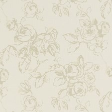 Sage Floral Large Decorator Fabric by Clarke & Clarke