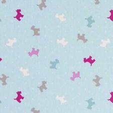 Aqua Animal Decorator Fabric by Clarke & Clarke