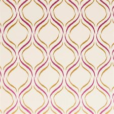 Berry Embroidery Decorator Fabric by Clarke & Clarke