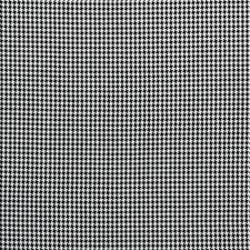 Charcoal Houndstooth Decorator Fabric by Clarke & Clarke