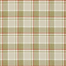 Spice Plaid Decorator Fabric by Clarke & Clarke