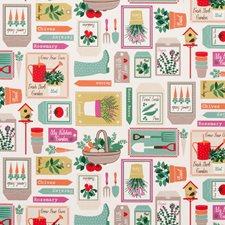 Spring Decorator Fabric by Clarke & Clarke